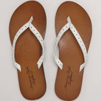AEO Perforated Flip-Flop | American Eagle Outfitters
