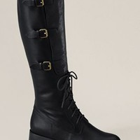 Women's Sloan Tall Riding Boot from Lands' End Canvas