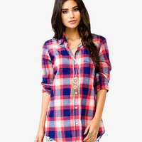 Boyfriend Plaid Shirt | FOREVER 21 - 2027704504