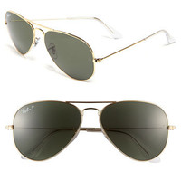 Ray-Ban 'Original Aviator' 58mm Polarized Sunglasses | Nordstrom