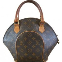 Louis Vuitton Leather Brown Tote Bag at 46% off on Tradesy