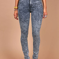 Acid Flex High Waist Skinnys | Skinny Jeans at Pink Ice