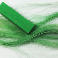 EMERALD GREEN  Hair Chalk // Single Stick Tint by MissVioletLace