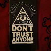 Kittyys Kupboard — Don't Trust Anyone iPhone 5 Case