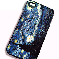 iPhone Case Starry Starry Night iPhone Hard by TheCuriousCaseLLC