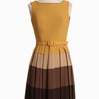 barnaby pleated dress by Eva Franco at ShopRuche.com