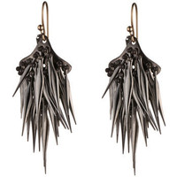 Gunmetal Spike Earring :: Earrings :: Miss Havisham :: Alexis Bittar