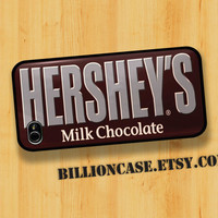 HERSHEY'S Milk Chocolate Candy Bar - iPhone 4 Case iPhone 4s Case iPhone 5 Case idea case Galaxy Case Hard Plastic Case Rubber Case