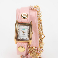 La Mer Crystal Ballerina Wrap Watch