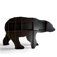 iBride Junior Polar Bear Bookshelf - Style # JUNIOR, Modern bookcases, contemporary bookcases, books shelves at SWITCHmodern.com
