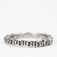 Urban Outfitters - Bing Bang Eternity Skull Ring