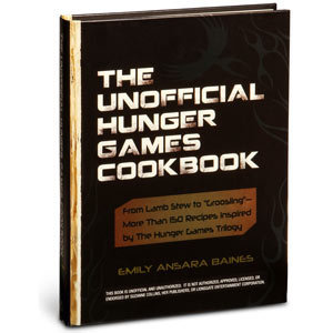 ThinkGeek :: The Unofficial Hunger Games Cookbook