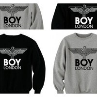 Boy london sweatshirt jumper pullover hoody by Meronepal on Etsy