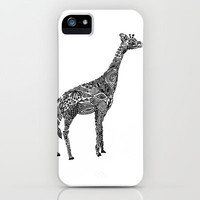 Designer Giraffe iPhone Case by Kanika Mathur | Society6