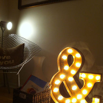 Vintage Marquee Lights Ampersand & by VintageMarqueeLights