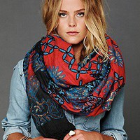 Artisan de Luxe Free People Clothing Boutique > Embroidered Dahlia Scarf
