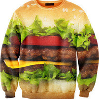 Fly Federation  Hamburger sweater