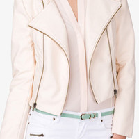 Faux Leather Moto Jacket | FOREVER 21 - 2027706212
