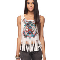 Geo Fringed Top | FOREVER21 - 2000035653
