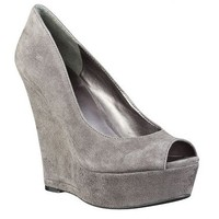 Nine West: Wedges > Dixson - peep toe platform pump with wedge