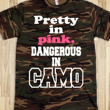 Pretty In Pink, Dangerous In Camo - Country Life