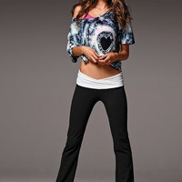 Yoga V-Front Pant &amp; Off the Shoulder Tee - Victoria&#x27;s Secret