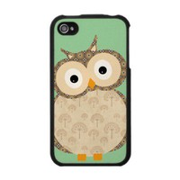 Cute Baby Owl Iphone 4 Skins from Zazzle.com