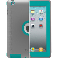 OtterBox Defender Series Case New iPad 4 3 2 Harbor Grey Green - Retail Packing