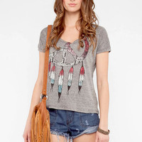 American Dream Catcher T-Shirt in Grey :: tobi
