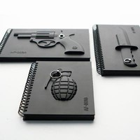 Armed Notebook - MollaSpace.com
