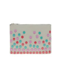Clutch With Enamel Studs