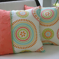 Decorative Accent Throw Pillow 15 x15 Inch by PillowscapeDesigns