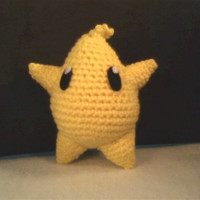 Amigurumi Luma from Mario Galaxy by OwlPudding on Etsy
