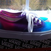 Tie dye vans       TEESTODYEFOR.CO.UK