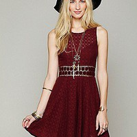 Free People  Clothing Boutique > Fitted With Daisies Dress