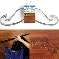 Mustache Clothes Hangers