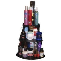 "Corner Shelf Cosmetic organizer 16"" High. Great for Organizing Bathroom counter or Make Up Table..No More Clutter! Proudly Made in the USA! by PPM."