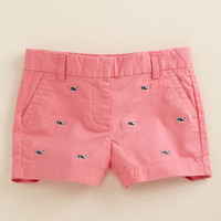 Girls Shorts: Casual Embroidered Boulevard Shorts for Girls  Vineyard Vines
