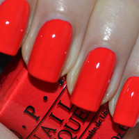 New! O.P.I ♥ RED LIGHTS ...