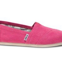 Earthwise Pink Women&#x27;s Vegan Classics | TOMS.com