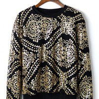 Baroque Sequins Epic Sweater