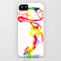 Smoke Art 81 iPhone Case by Steve Purnell | Society6