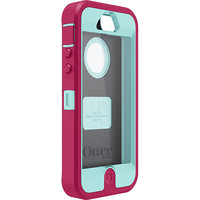 Pink &amp; Teal OtterBox Def...