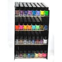 Emori (TM) 32 Piece Vibrant Color Nail Lacquer (Glitter, Metallic, Neon, Nail Polish) Combo Set + 3 Sets of Scented Nail Polish Remover - Xtreme
