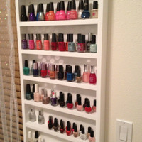 Nail polish organizer.