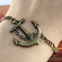 Anchor Bracelet:)