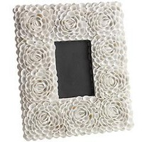 Product Details - White Rose Shell Frame