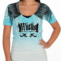 Affliction Vertical T-Shirt - Women's Shirts/Tops | Buckle