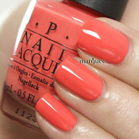 OPI Nail Polish (H43-Hot & Spicy) *NEW* Hong Kong Collection