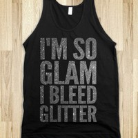 I'm So Glam (tank) - Girly